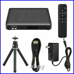 Mini Portable 2G+16G DLP Android Wifi 4K HD 1080P 3D Home Theater Projector HDMI