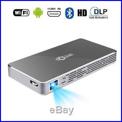 Mini Portable DLP 4000 Lumens Android WIFI HD 1080P Video Home Theater Projector