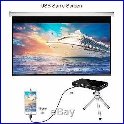 Mini Projector 3000LM DLP Pocket WiFi Android HD Home Theatre Cinema HDMI USB