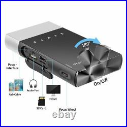 Mini Projector Vamvo Ultra Mini Portable Projector 1080p Supported HD DLP LED