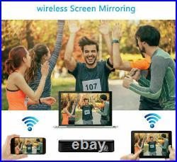 Mini Smart Android Home Cinema Projector HDMI USB Wifi HD 4K Entertainment UK