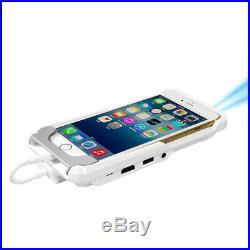 Mini TV Micro DLP Wifi Portable Pocket LED Smartphone Projector Pico HD Video 10