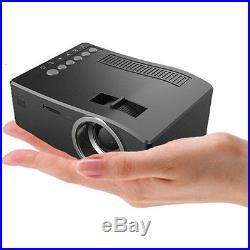 Multimedia LED Projector Home Theater USB TV 3D HD 1080P Business VGA/HDMI Lot