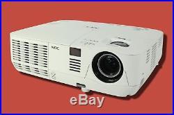 NEC NP-V300X DLP Projector 3000 ANSI HD 3D movies HDMI 1080i Remote TeKswamp