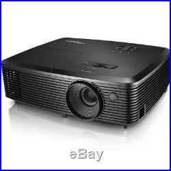 NEWOptoma H183X 3D HD Projector 3200 Lumens Contrast 250001 (WXGA) HDMI VGA