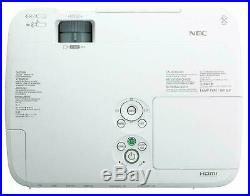 Nec M230x LCD Hdmi Home Cinema Data Presentation Projector New Lamp 6000 Hours