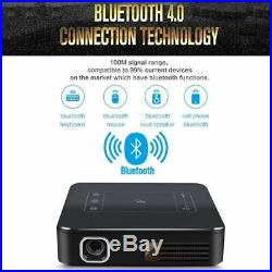 New DLP 4K Home Theater Projector Wifi HD 1080P Mini Android Cinema 2G+16G HDMI