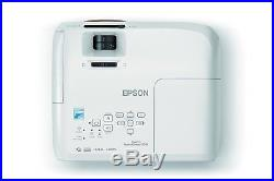 New Epson Home Cinema 2045 Wireless 1080p 3D Miracast LCD Home Theater Projector