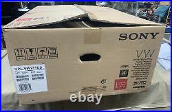 Nice Sony Native 4K Video Projector VPL-VW285ES WithRemote Manual & Box
