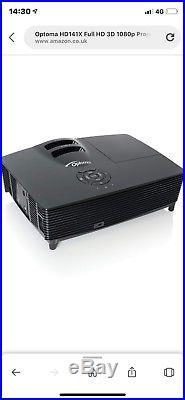 OPTOMA HD141X Full HD Home Cinema 3D Projector, 1920 x 1080, 3000 ANSI