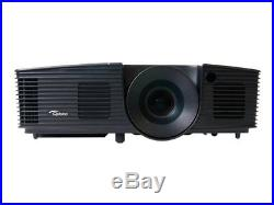 Optoma DX342 3D HDMI HOME CINEMA PROJECTOR 3000 LUMENS NEW LAMP