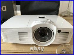 Optoma GT1080e 1080P Full HD Projector HDMI 3D Home Cinema Short Throw Remote