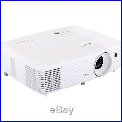 Optoma HD27 1080p 3D DLP Home Theater Projector Factory Refurbished