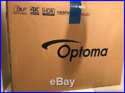 Optoma UHD300X Projector 4K UHD 2200 Lumens