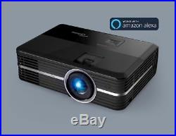 Optoma UHD51A 4K Home Cinema Projector with Alexa Voice Support