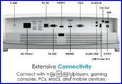 Optoma UHD60 True 4K UHD Projector, Bright 3000 Lumens, Entertainment and Movies