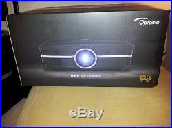Optoma UHD65 4K Home Cinema Projector Opened Box