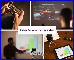 PIQO Projector The world's smartest 1080p mini pocket portable projector