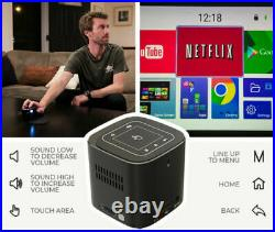 PIQO Smart Mini Projector Powered by Android BRAND NEW