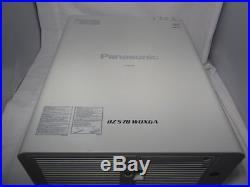 Panasonic PT-DZ570U DZ570U WUXGA 1920x1200 1080p DLP Projector 4000 lumens HDMI