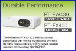 Panasonic PT-FX400EA Full HD Ready 4000 ANSI Lumens XGA Tri-LCD HDMI Projector