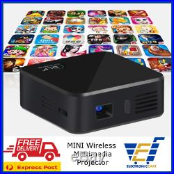 Pocket Wireless DLP/LED HD Projector Multimedia Player Quadcore Miracast Airplay
