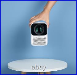 Portable Ceiling and Wall Wanbo T2M Projector Built In Speakers 1080P HD