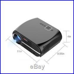 Portable GP100 5000 Lumens 1080P LCD 280 Projector Video 10,0001/Dynamic B1Z4X