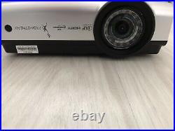 Promethean PRM-35 DLP Short Throw Projector HDMI VGA LAN S-Video inputs
