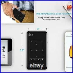 Proyector video mini portatil wifi tactil imagen alta calidad sonido peliculas