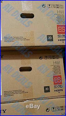 SONY VPL-HW45ES 3D Theater/Gaming Projector New In Box + Warranty Send anOffer