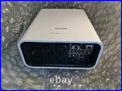Sanyo XP100 200 6,500 lumen HD Church Conference Projector THE BEST ON EBAY