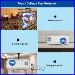 Smart 1080p WiFi Projector Android Home Cinema Blue tooth HDMI USB Wirelessly UK