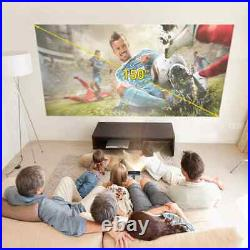 Smart Android Wifi Mini Pocket Portable Beamer TV LED DLP Mobile 1080P Projector