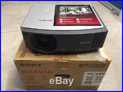 Sony Bravia projector vpl-aw10