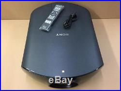 Sony VPL-VW1000ES 4K 3D Home Theater Projector 2000-Lumen ES SXRD IP RS-232