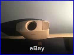 Sony VPL-VW520 4K Projector (White)
