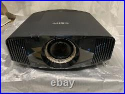 Sony VPL-VW550ES 4K Home Cinema Projector, UHD, HDR, Beamer, Black, RRP £10,000