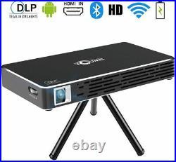 TOUMEI C800S Mini Projector Portable Android 7.1 DLP Home Cinema 100 inch