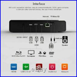 Toumei V5 HD 4K Projector DLP Wifi 3D Home Theater Cinema HDMI USB RJ45 Android#