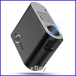 Tragbar 7000LM 100001 Voll HD 1080P HEIMKINO PROJEKTOR USB SD HDMI VGA AV