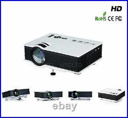 UC40+ Mini Portable 800 lumens 1080P LED Projector Home Theater Buz VGA USB HDMI
