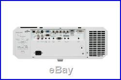 Ul7400u Mitsubishi 5000 Lumens Wuxga Hdmi Projector New Lamp Fully Refurbish