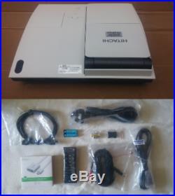 Ultra Short Throw 2000 Lmn Hitachi LCD Projector New Lamp + Hdmi Wifi Compat