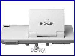 Ultra Short Throw 2200 Lmn Hitachi LCD Projector New Lamp Hdmi