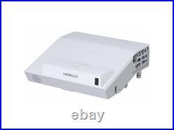 Ultra Short Throw 2700 Lumens Hitachi Home Cinema Projector New Lamp 2 Xhdmi Usb