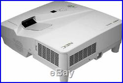 Ultra Short Throw 2800 Lumens Nec LCD Projector New Lamp Hdmi Usb