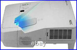 Ultra Short Throw 3300 Lumens Nec LCD Projector New Lamp Hdmi Usb