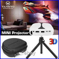VANKYO Burger 101 DLP Mini Rechargeable Projector HD 1080P 3D Support HDMI WIFI