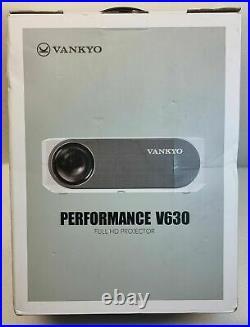 VANKYO Performance V630 Native 1080P 300 Full HD Projector 6800 Lux